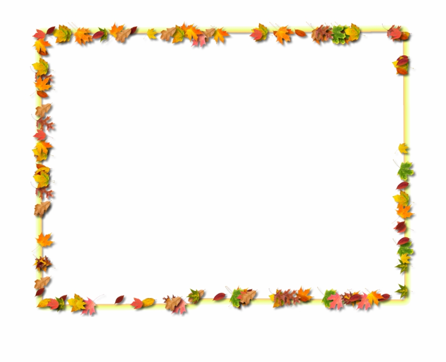 Thanksgiving Borders Microsoft Word Clipart.