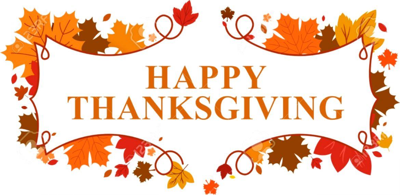 Thanksgiving Clip Art Borders.