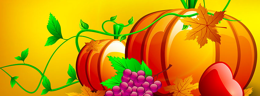 Free Thanksgiving Facebook Covers.