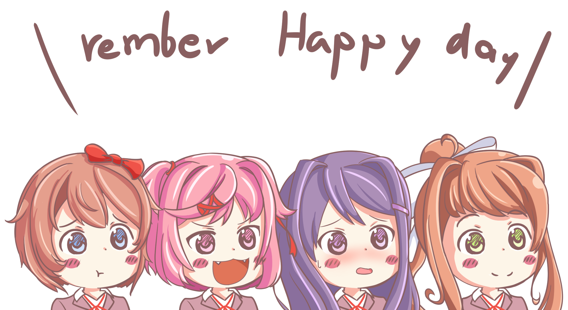 Happy Thoughts! (by KelsuisP) : DDLC.