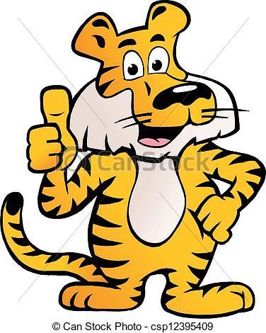 Happy tiger clipart 4 » Clipart Portal.