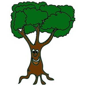 happy tree clipart, cliparts of happy tree free download (wmf, eps.