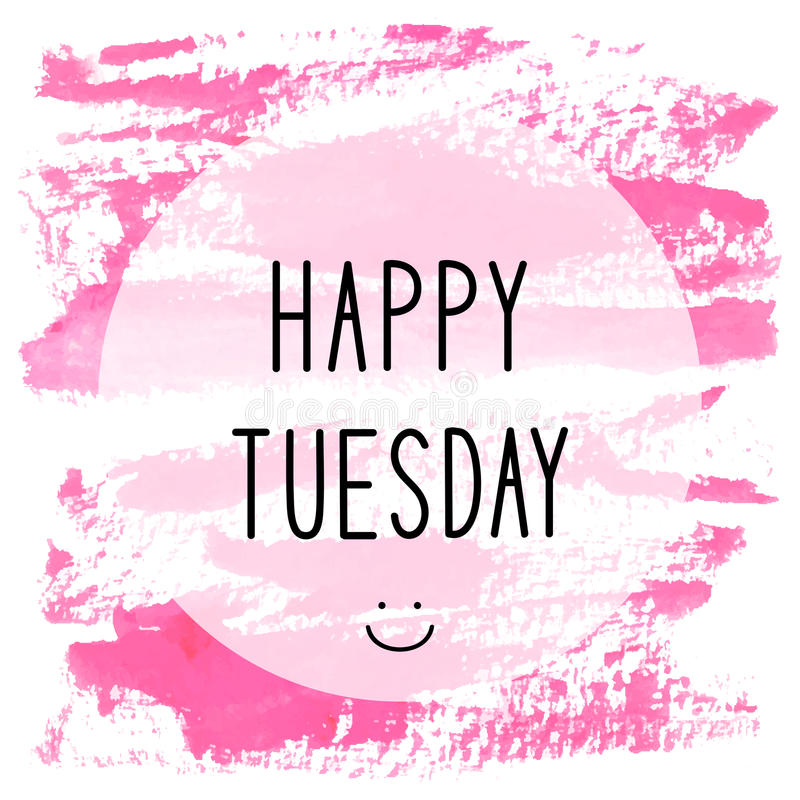 Happy Tuesday Stock Illustrations.