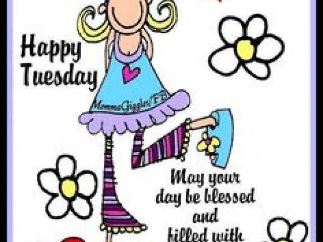 Happy Tuesday Clipart 4.