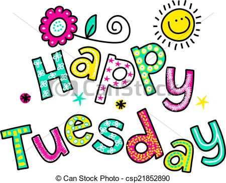 1088 Tuesday free clipart.