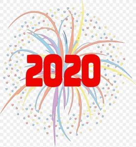 Happy New Year 2020 Free Clipart Images Free Download & Save PDF.
