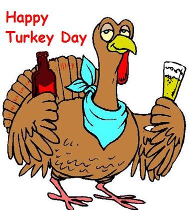 Happy Turkey Day Clipart.