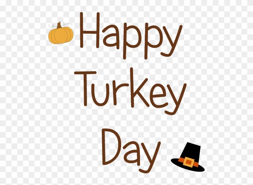 Happy Turkey Day Clip Art.