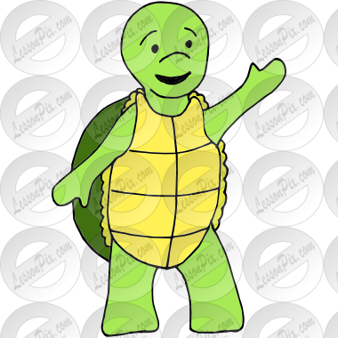 Happy Turtle Picture for Classroom / Therapy Use.