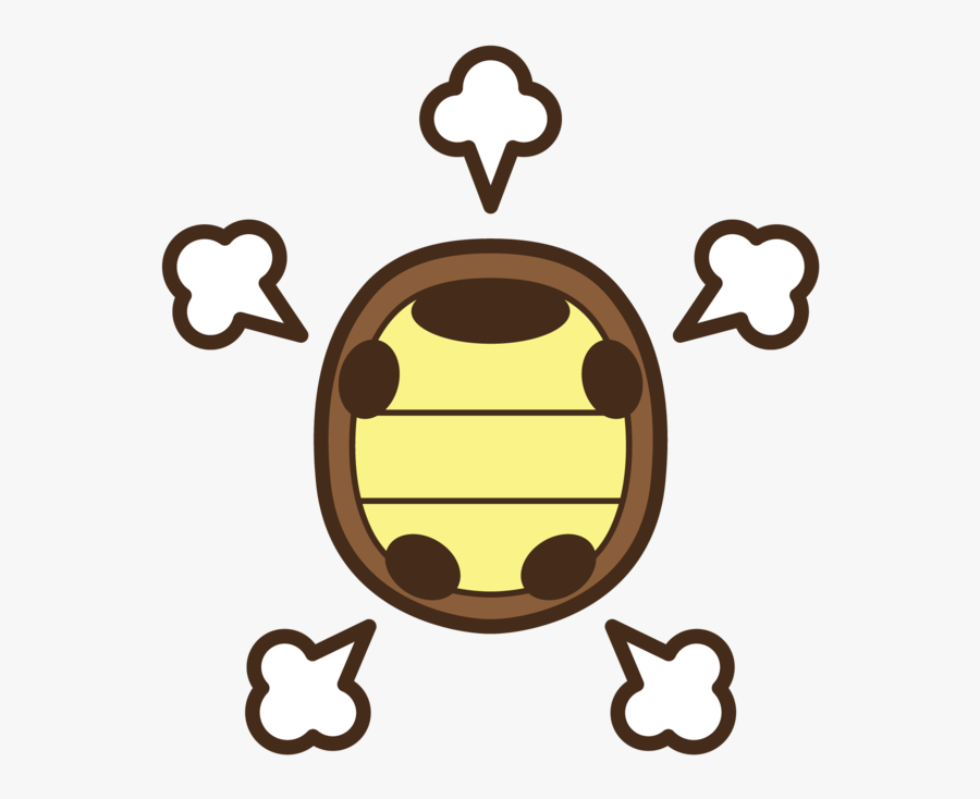 Happy Turtle Shell Clipart , Png Download.