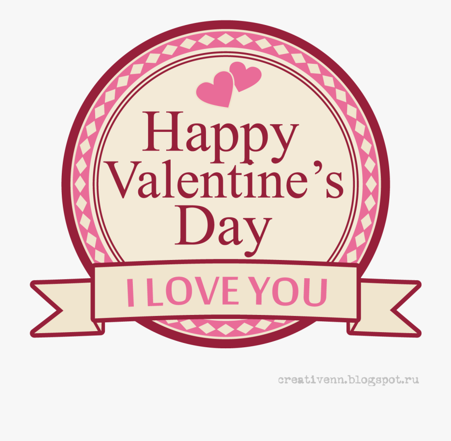 Happy Valentines Day Png.
