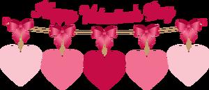 Happy Valentines Clipart.