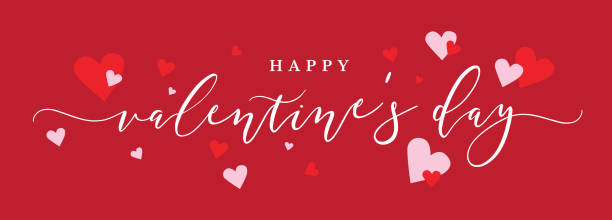 Happy Valentines Day Banner Clipart & Free Clip Art Images #26745.