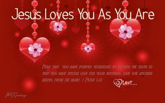 Christian Happy Valentines Day Clipart.