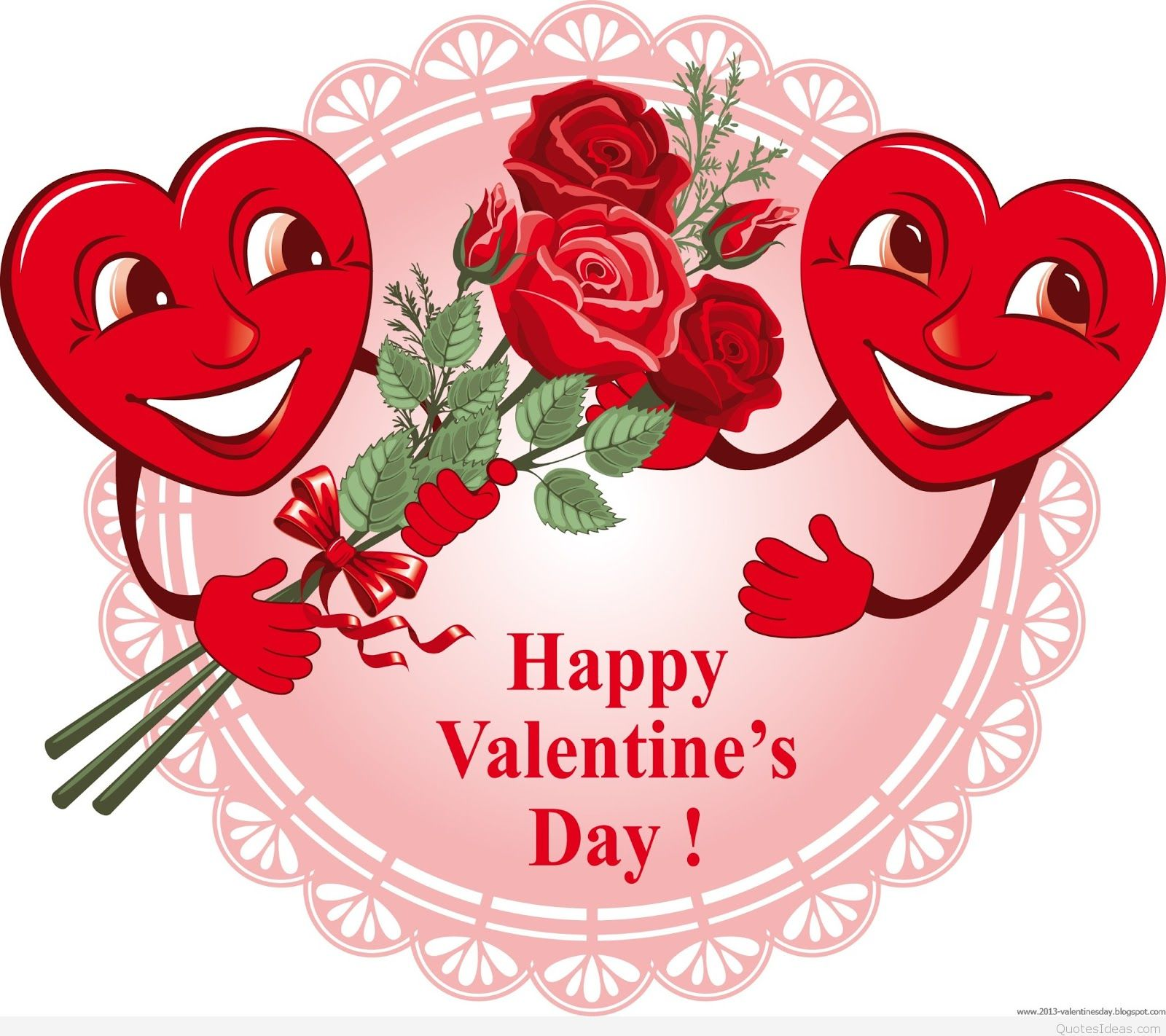 Happy Valentines Day Brother Clipart.