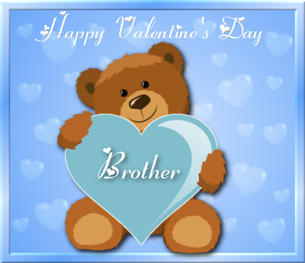 Showing Post U0026 Media For Happy Valentines Day Brother Cartoons.