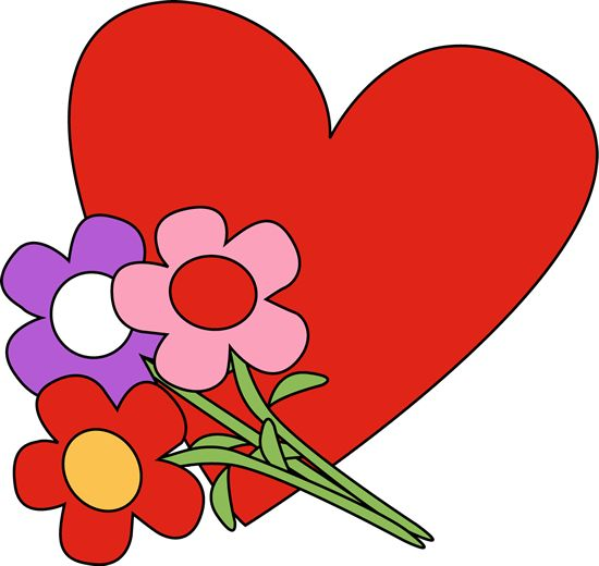 Happy Valentines Day Clipart Flowers 20 Free Cliparts