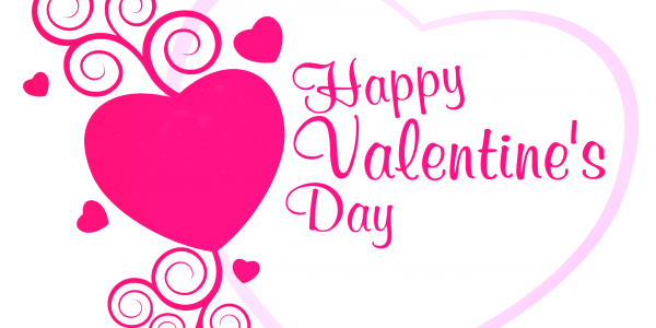 Image of Happy Valentines Day Clipart #9050, Happy Valentines Day.