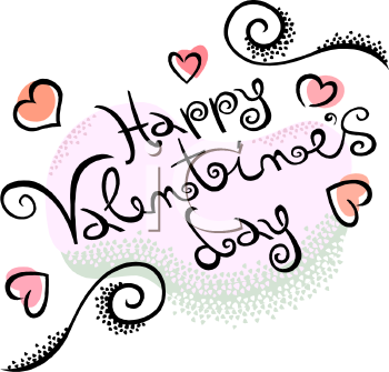 Happy valentines day live clipart.