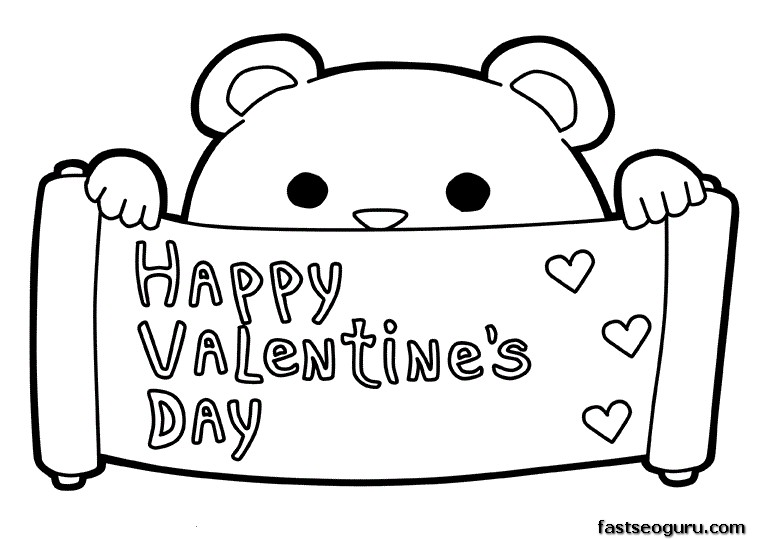 Happy Valentines Day Clip Art, Coloring Pages, Printable Cards.