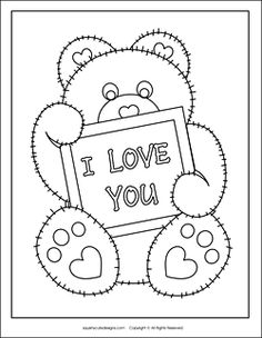 Free printable valentine heart balloons coloring pages for kids.