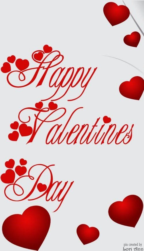 Happy Valentine\'s Day to you :).