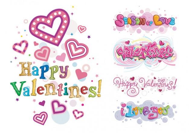 Happy Valentine's Day Clipart.