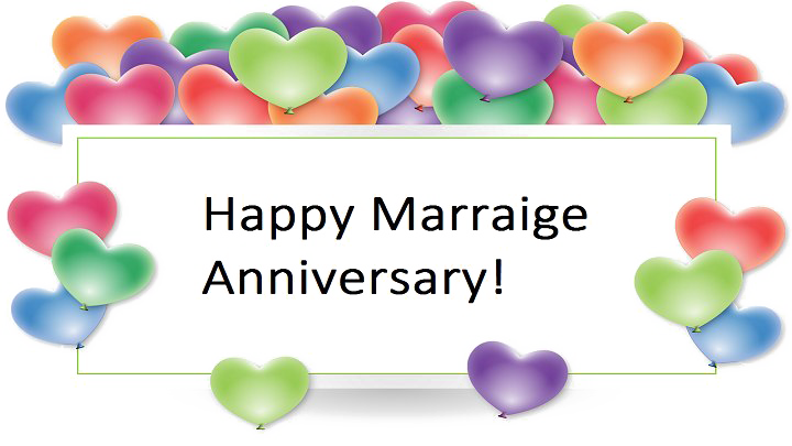 Happy Anniversary PNG Images Transparent Free Download.