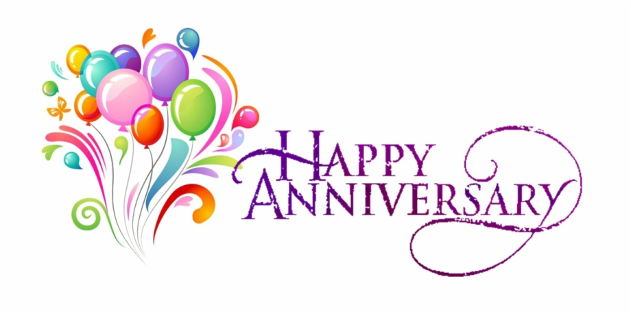 Happy Anniversary Png Transparent.