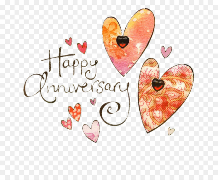 Wedding Anniversary, Anniversary, Greeting Note Cards, Heart, Text.