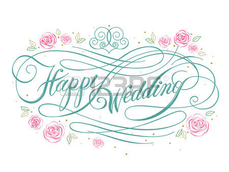 136,716 Happy Wedding Stock Vector Illustration And Royalty Free.