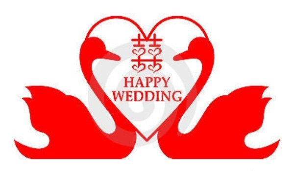 Happy Wedding Clipart.