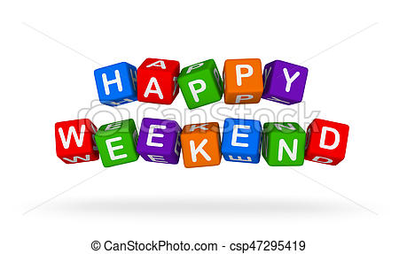 Happy weekend clipart 3 » Clipart Station.
