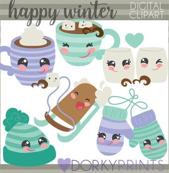 Happy Winter Clipart.