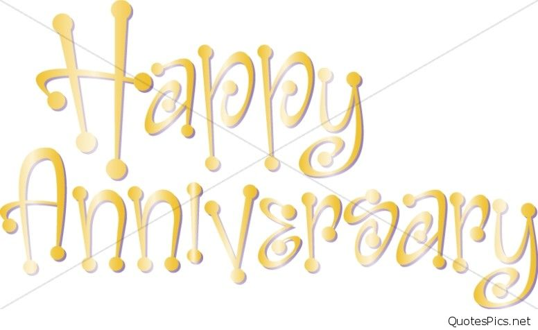 happy work anniversary clipart #12