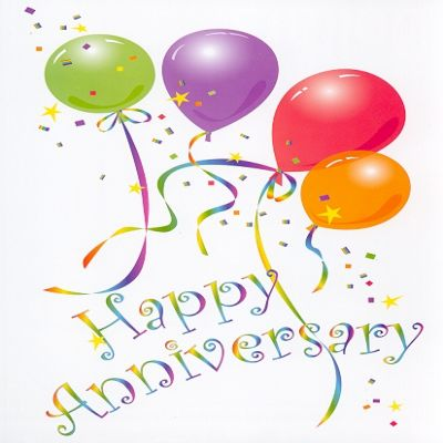 Happy th anniversary clipart.