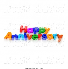 happy work anniversary clipart #2