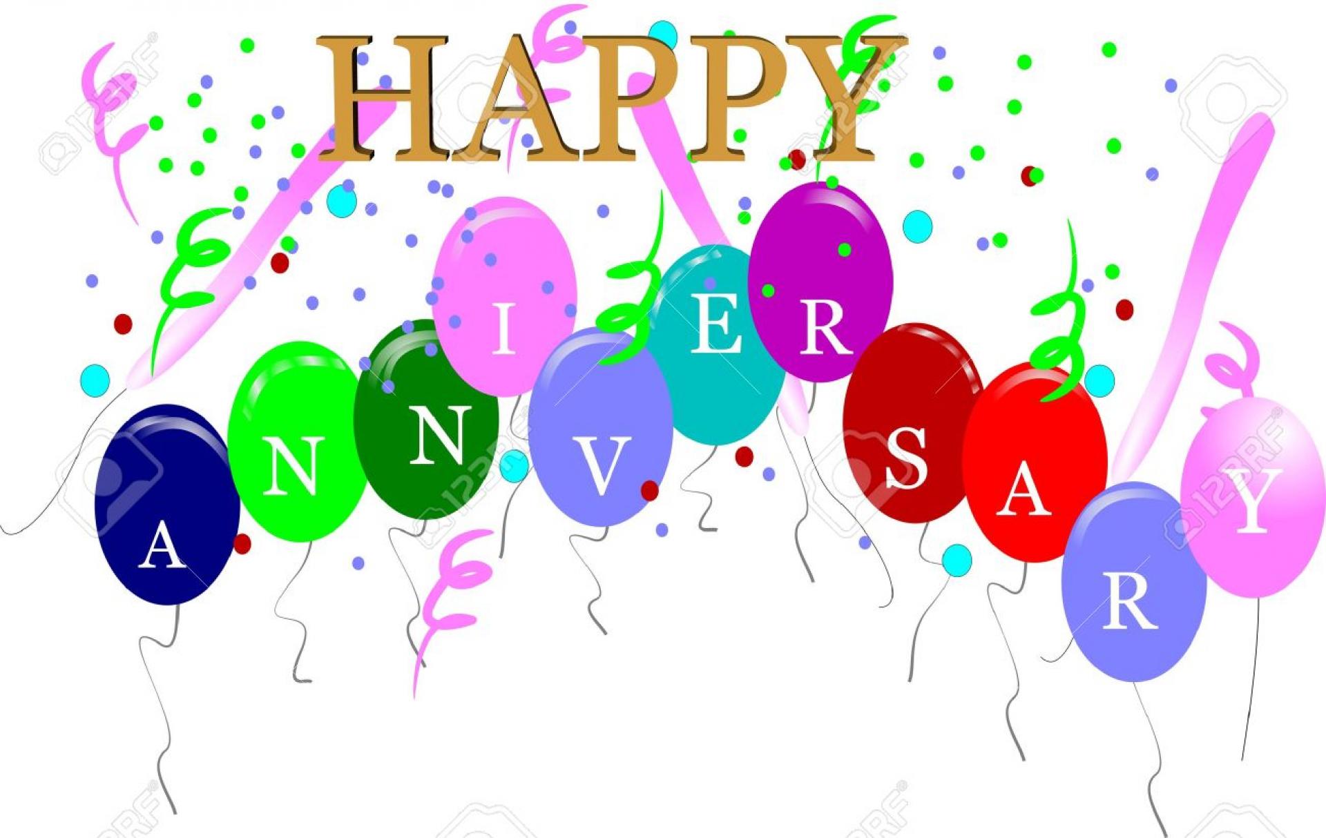 happy work anniversary clipart