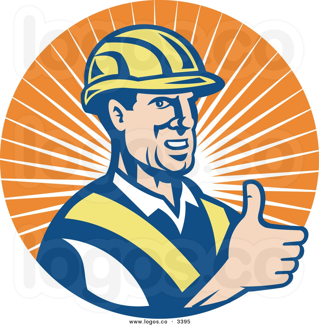 Happy Worker Clipart#2163315.