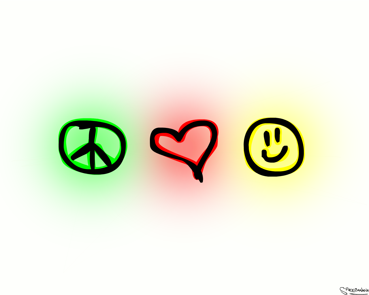 Love happiness clipart.