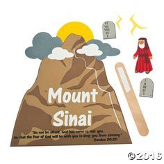 Image result for moses climbs mount sinai clipart.