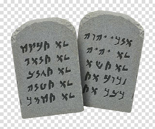 Hebrew Bible Tablets of Stone Ten Commandments Judaism.