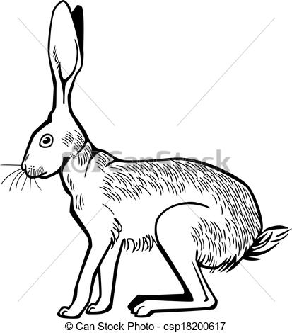 Hare images clip art.