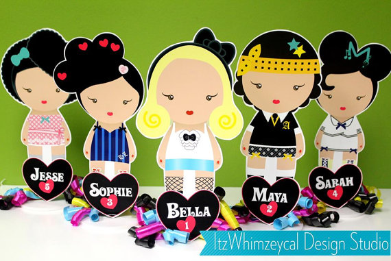 Personalized Harajuku Centerpiece by ItzWhimzeycal Design Studio.