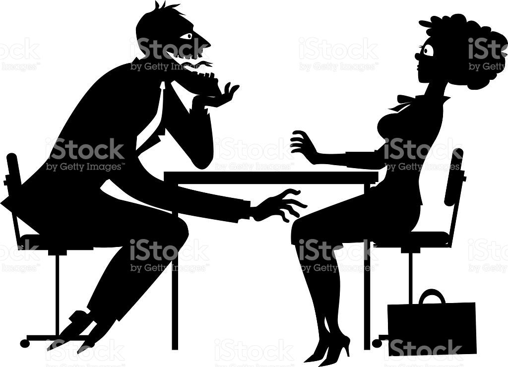 Sexual Harassment Clipart stock vector art 528300898.
