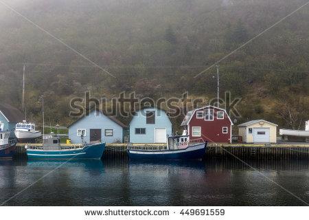 Quaint Harbour Stock Photos, Royalty.