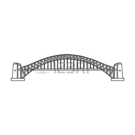 967 Harbour Bridge Stock Vector Illustration And Royalty Free.
