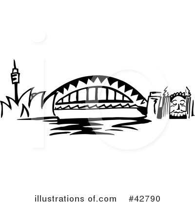 Harbour Bridge Clipart.