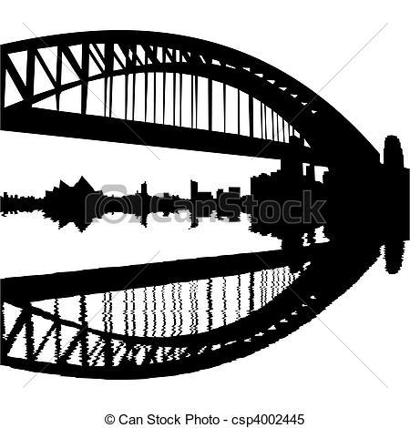 Harbour bridge Clip Art and Stock Illustrations. 270 Harbour.