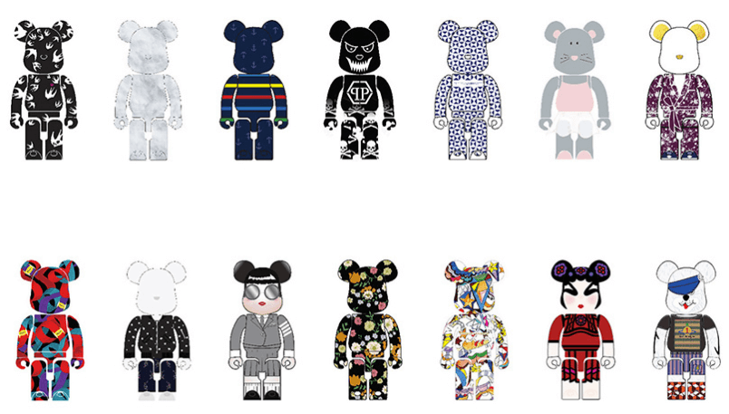 Style Up BE@RBRICK at Harbour City.